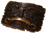 Soaring Eagle Belt Buckle with display stand